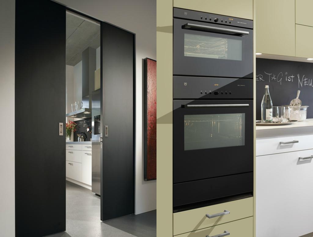 Küche auf engem Raum, weiss - EMME - Die Schweizer Küche