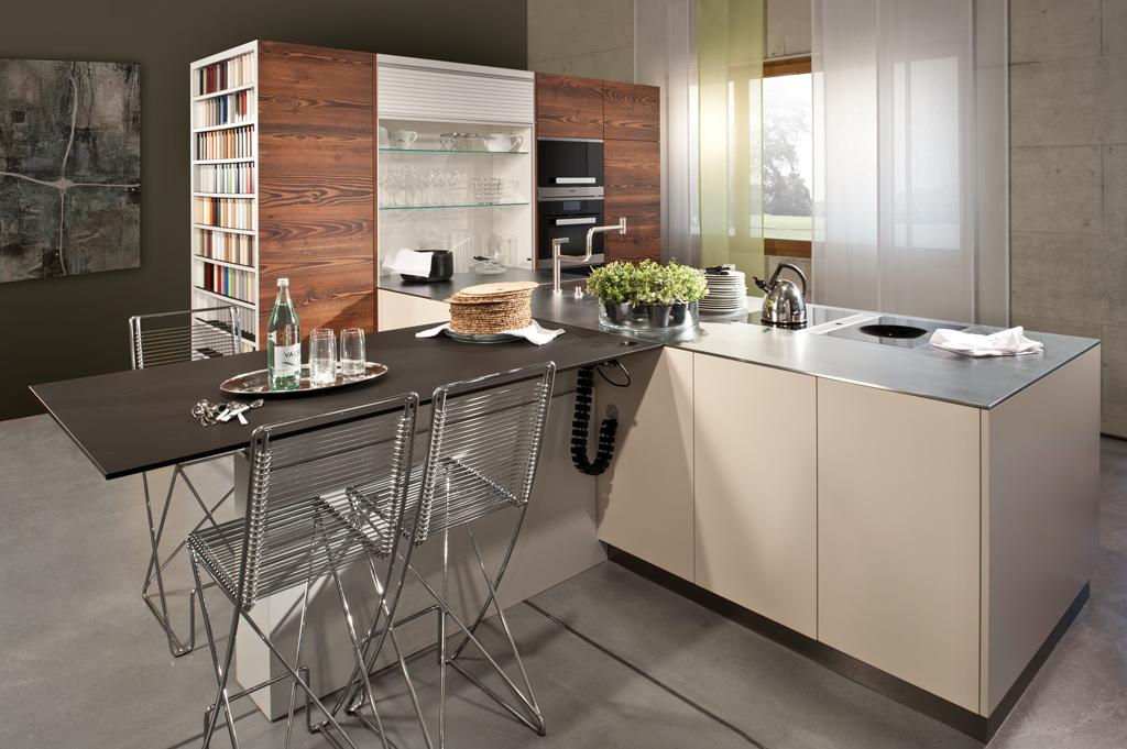 Küche mit Altholz