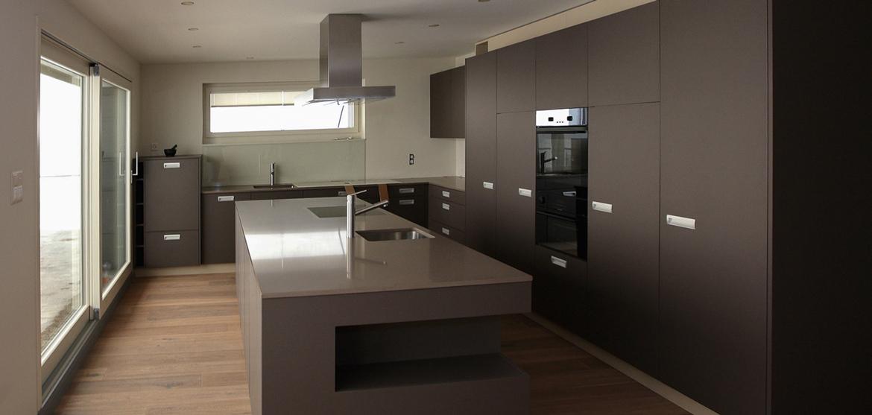 Edle Küche anthrazit - EMME - Die Schweizer Küche