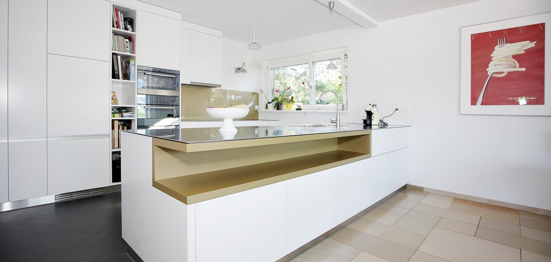 Küche Weiss Und Gold