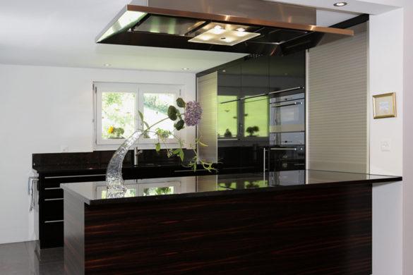 EMME Küche schwarz