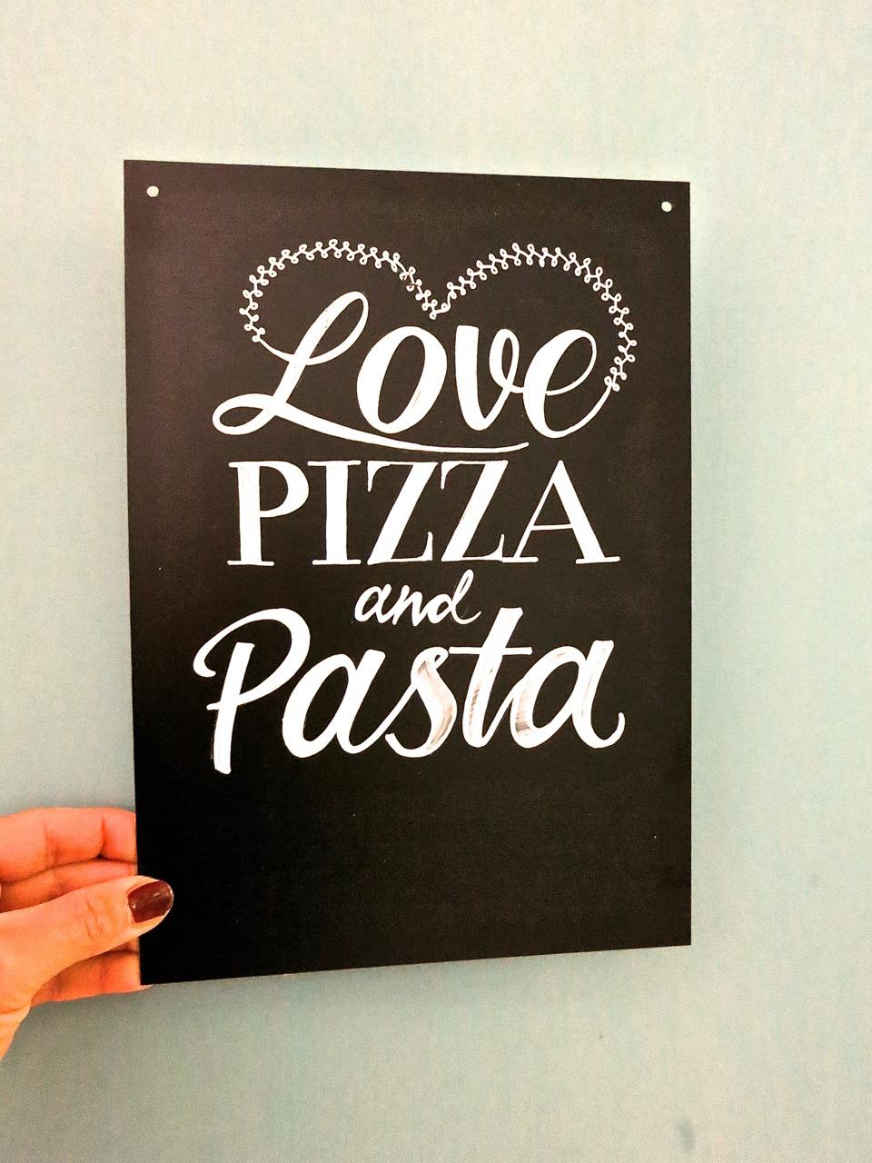 Handlettering-Kurs-Pizza