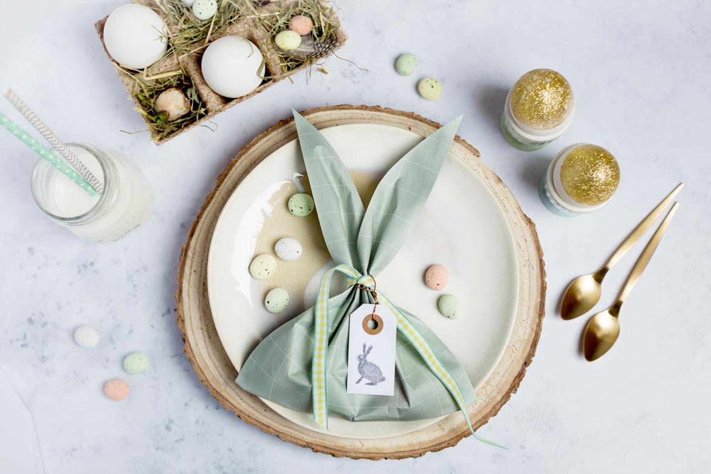 Hasen Säckli Ostern