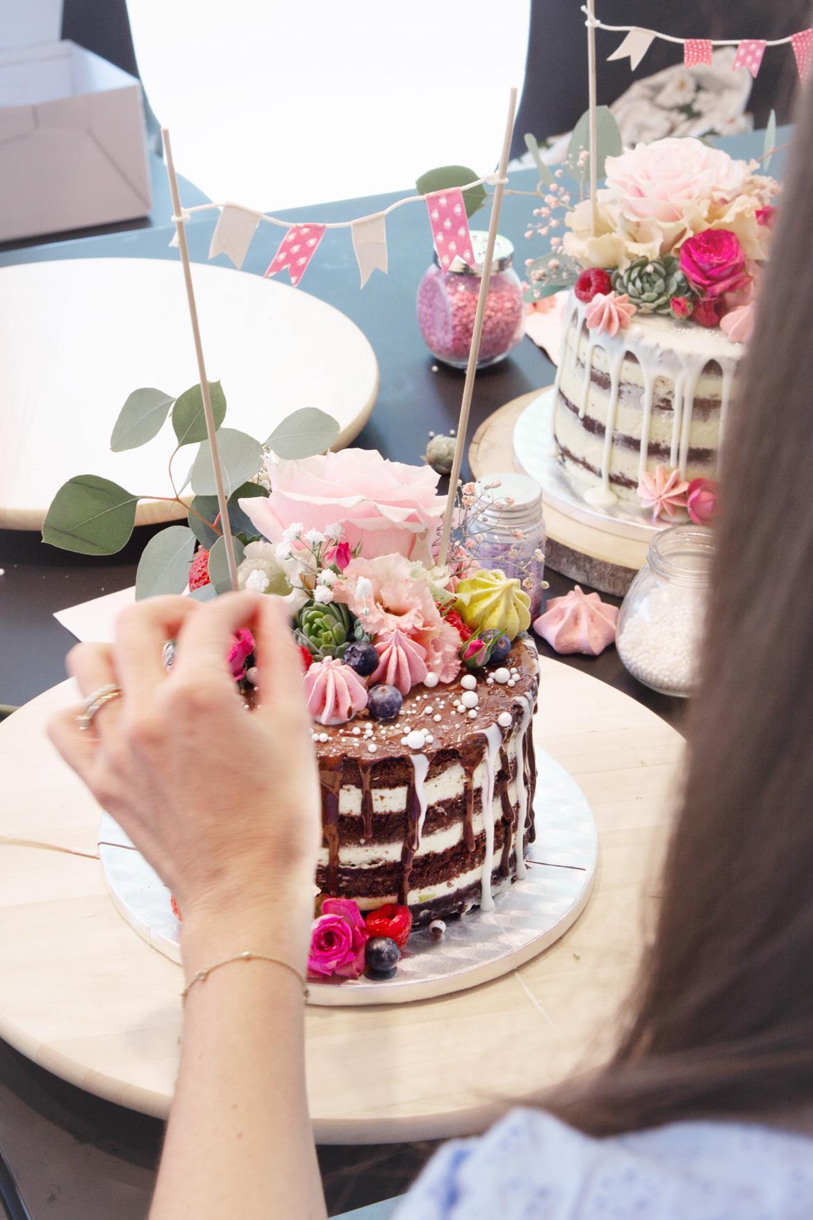 Drip-Cake-Kurs mit Jenny's Cakes