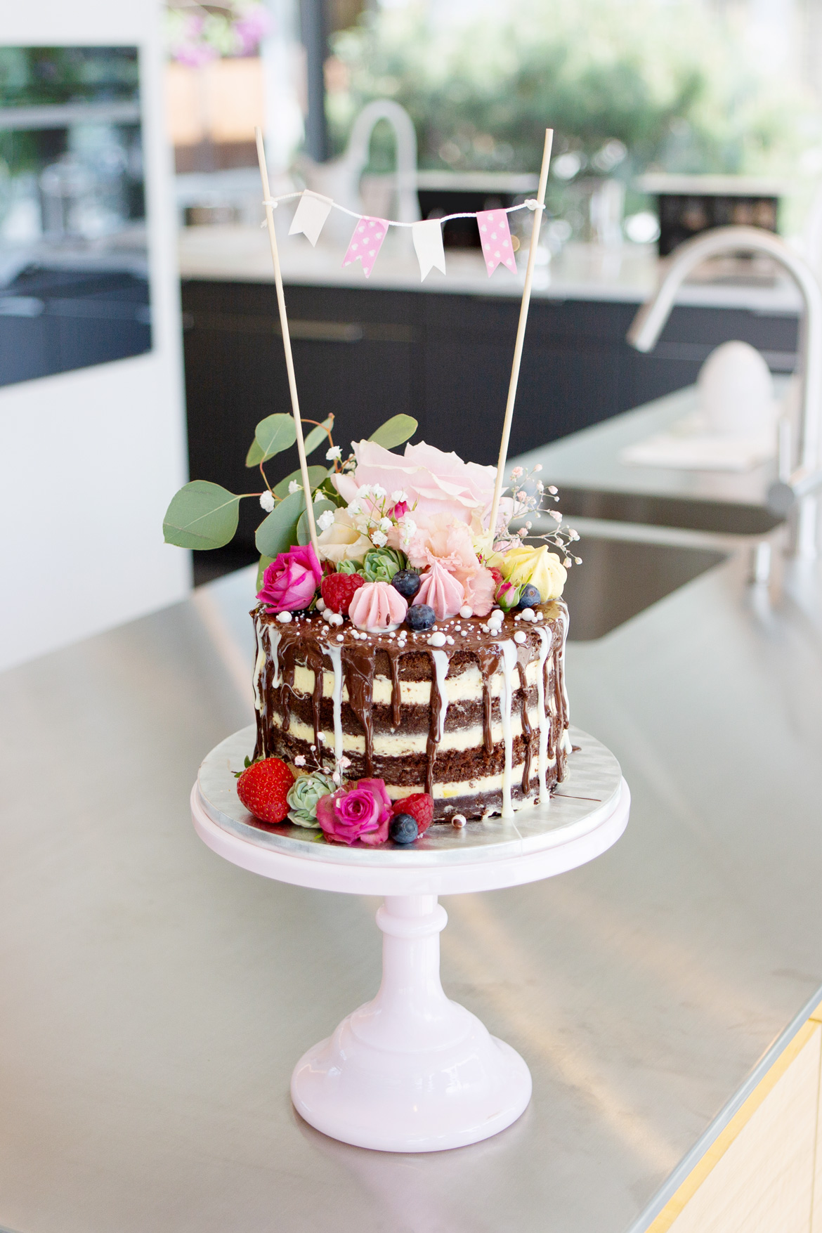Naked Cake Drip Cake Tortenkurs mit Jenny's Cakes