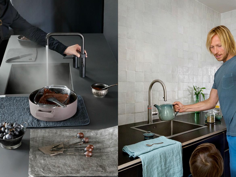 Quooker, der praktische Kochend-Wasserhahn