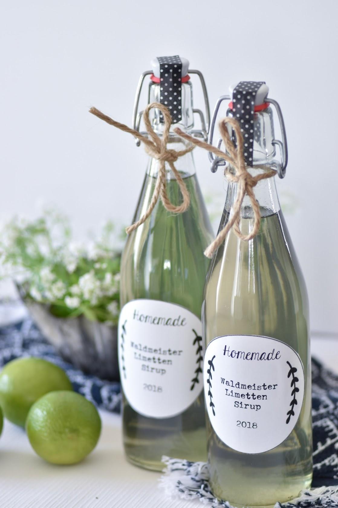 Waldmeister-Sirup Rezept