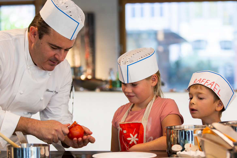 Kinderkochkurs mit Florent Benjamin