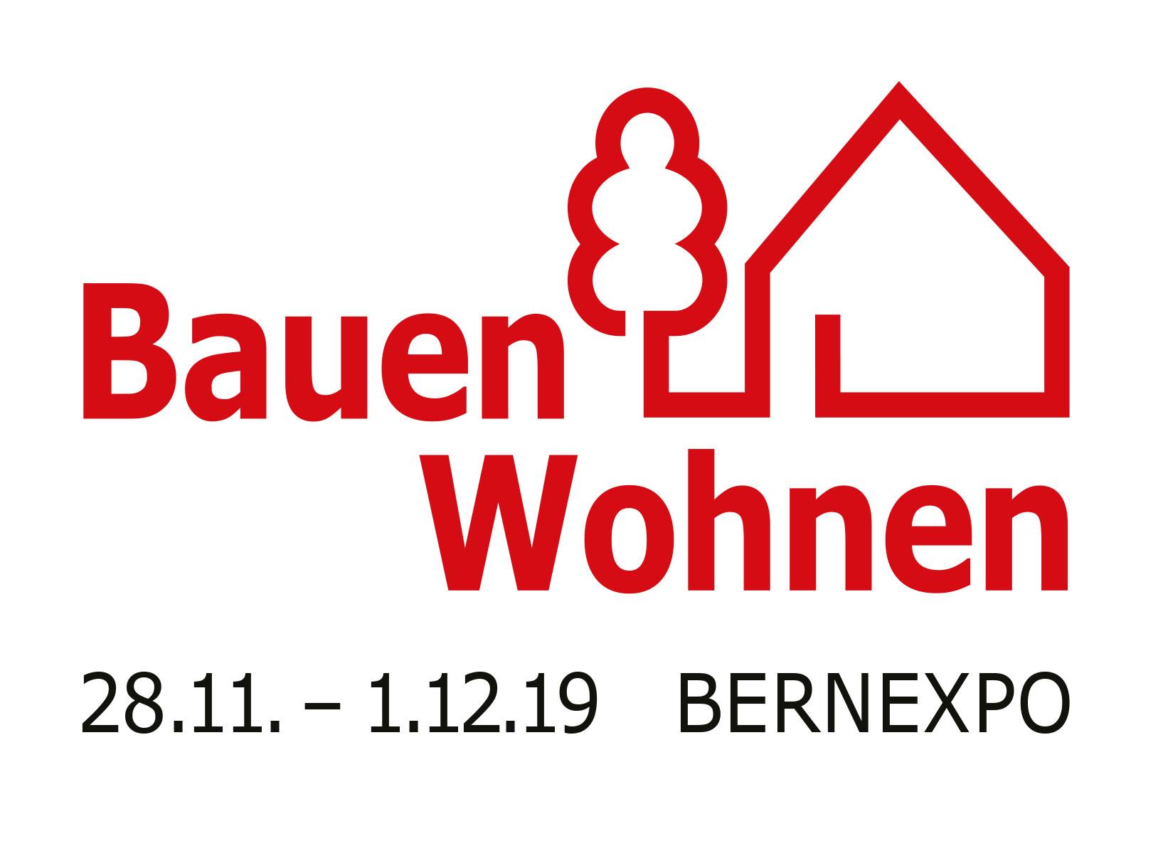 Logo Messe Bauen und Wohnen in Bern